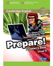 Prepare! 6 Student's Book: Английски език - ниво B2 (учебник)