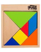 Детска игра Pino Toys - Танграм -1