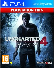 Uncharted 4: A Thief's End (PS4) -1