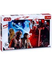 Пъзел Trefl от 100 части - Битката между доброто и злото, Star Wars