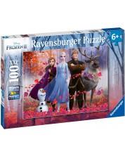 Пъзел Ravensburger от 100 XXL части - Замръзналото кралство 2, Магията на гората