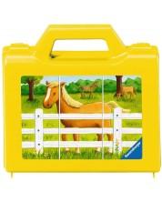 Пъзел с кубчета Ravensburger от 6 части - Животните на село -1