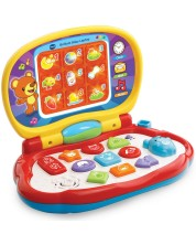 Детска играчка Vtech - Разноцветен лаптоп -1