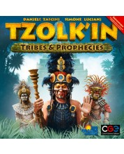 Разширение за настолна игра Tzolk'in - Mayan Calendar - Tribes & Prophecies