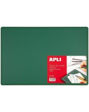 Разграфена дъска Apli - За рязане, зелена, 450 х 300 х 2 mm (А3)