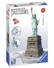 3D Пъзел Ravensburger от 108 части - Статуята на Свободата -1