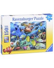Пъзел Ravensburger от 150 XXL части - Подводен свят -1