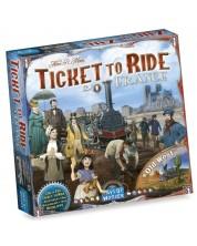 Разширение за настолна игра Ticket to Ride: France & Old West