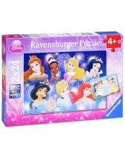 Пъзел Ravensburger от 2 x 24 части - Дисни Принцеси