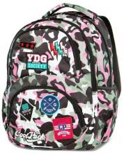 Ученическа раница Cool Pack Dart - Camo Pink Badges