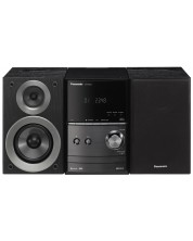 Аудио система Panasonic - SC-PM600EG-K, черна