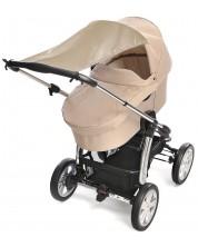 Сенник за бебешка количка Reer - Бежов