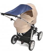 Сенник за бебешка количка Reer - Син