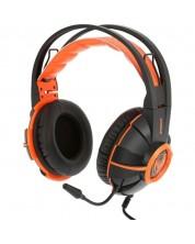 Гейминг слушалки Somic - G905, черни/оранжеви