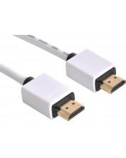 Кабел Sandberg - HDMI 2.0, 2m, бял -1