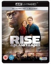 Rise Of The Planet Of The Apes (4K UHD Blu-Ray+Blu-Ray)