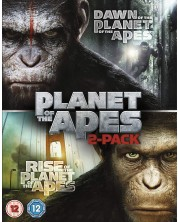 Rise Of The Planet Of The Apes/Dawn Of The Planet Of The Apes (Blu-Ray)