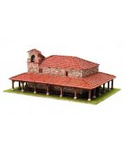 Сглобяем модел Domus Kits - Романика 20, Църква St. Adrian de Argineta, Макет с истински тухли