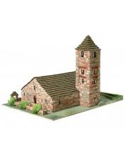 Сглобяем модел Domus Kits - Романика 22, Църква St. Joan de Boi, Макет с истински тухли