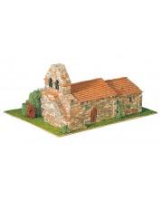 Сглобяем модел Domus Kits - Романика 12, Arenillas de Ebro, Макет с истински тухли