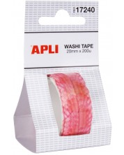 Самозалепващи листенца Apli - На лента, 200 броя