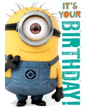 Музикална картичка Danilo - Despicable Me: Minion Birthday -1
