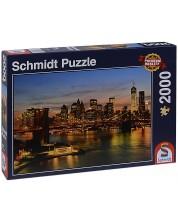Пъзел Schmidt от 2000 части - Ню Йорк