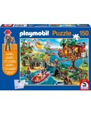 Пъзел Playmobil Schmidt от 150 части - Къща на дърво
