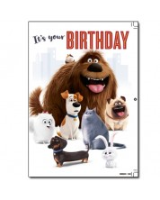 Музикална картичка Danilo - Secret Life of Pets: Birthday