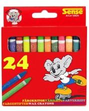 Цветни пастели Sense – 24 броя
