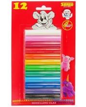 Пластилин Sense – 12 цвята -1