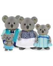 Комплект фигурки Battat Lil' Woodzeez - Семейство коали