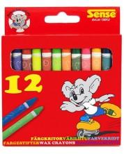 Цветни пастели Sense - 12 броя