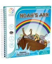 Магнитна игра Smart Games - Noah's Ark, издание за път