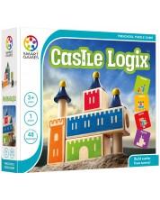Детска логическа игра Smart Games Preschool Wood - Логически замък
