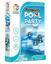 Детска логическа игра Smart Games Compact - Пингвини край басейна