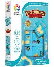 Детска логическа игра Smart Games Compact - Скрий и открий пред пиратите