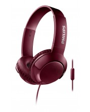 Слушалки Philips SHL3075RD - червени