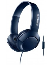 Слушалки Philips SHL3075BL - син