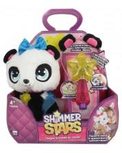 Плюшена играчка Shimmer Stars - Панда Пикси, с аксесоари -1