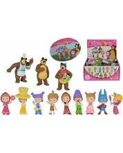 Фигурка-изненада Simba Toys - Маша и Мечока
