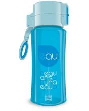 Бутилка за вода Ars Una - Светлосиня, 450 ml -1