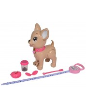 Играчка Simba Toys Chi Chi Love - Кученце, на разходка до тоалетна -1