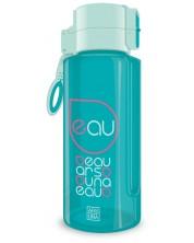 Бутилка за вода Ars Una - Тюркоаз, 650 ml -1