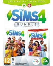 The Sims 4 + Cats & Dogs Expansion Pack Bundle (PC)
