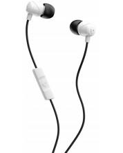 Слушалки с микрофон Skullcandy JIB - бели/черни/бели