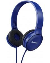 Слушалки Panasonic RP-HF100E-A - сини -1