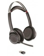 Слушалки Plantronics VOYAGER Focus MS UC, USB-A