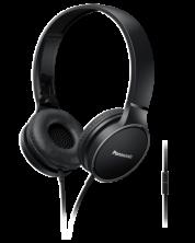 Слушалки с микрофон Panasonic RP-HF300ME-K - черни