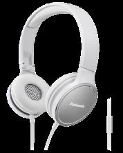 Слушалки с микрофон Panasonic RP-HF500ME-W - бели